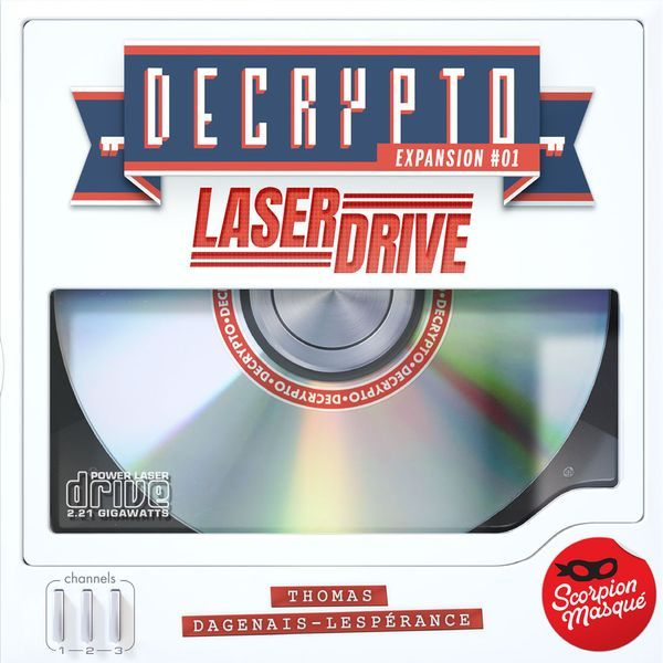 Decrypto Expansion 1 Laser Drive