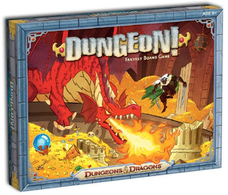 D&D Dungeon! Fantasy Board Game