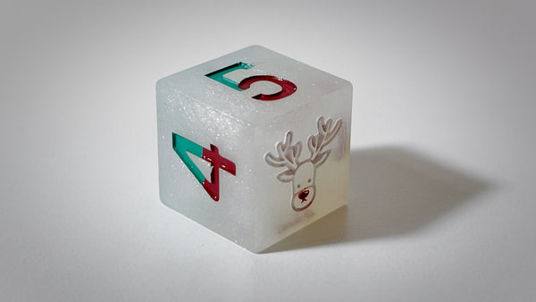 Frosted Critmas - Rudolf - D6 Single