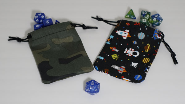 Handcrafted Small Dice Pouch