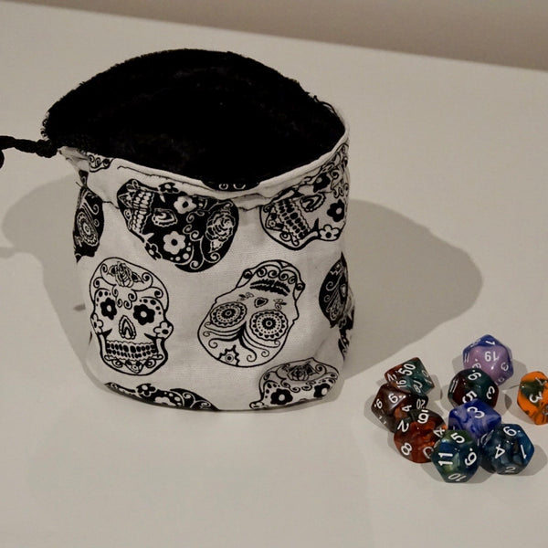 Handcrafted Large Dice Bag