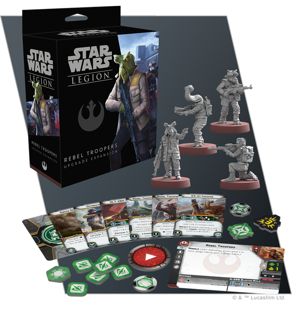 Star Wars Legion Rebel Troopers Upgrade Expansion