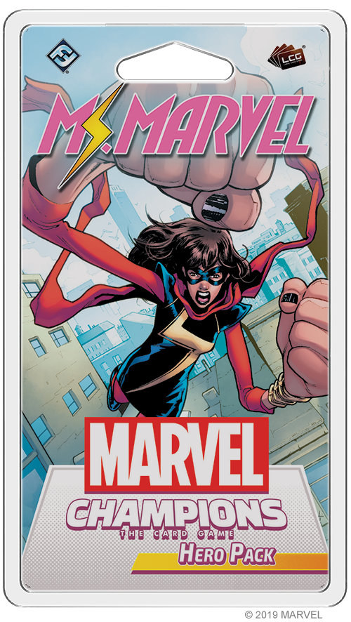 Marvel Champions LCG Ms Marvel Hero Pack