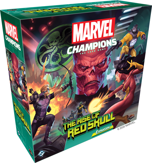 Marvel Champions LCG The Rise of Red Skull Campaign Expansion