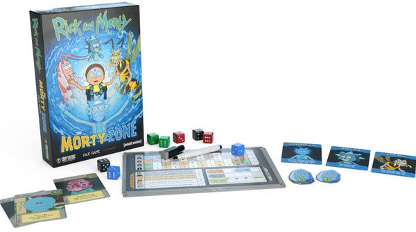 Rick and Morty The Morty Zone Dice Game