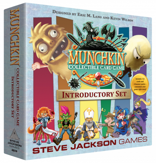Munchkin Collectable Card Game Introductory Set