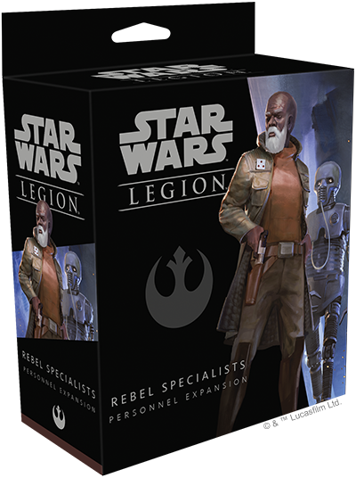 Star Wars Legion Rebel Specialists