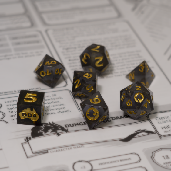 Dungeons & Dragons Australia Dice Set