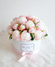 Load image into Gallery viewer, Pink Peonies Flower Box - Deluxe
