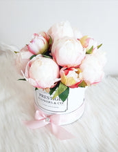 Load image into Gallery viewer, Pink Peonies Flower Box - Classic