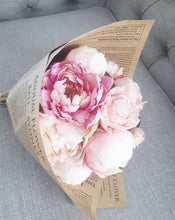 Load image into Gallery viewer, Pink Peonies Bunch