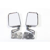 Door Mirror Kit, Dual Focus, Chrome; 87-02 Jeep Wrangler YJ/TJ - 11018.01