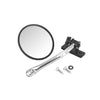 Quick Release Mirror Relocation Kit, Stainless; 97-18 Jeep Wrangler - 11026.11
