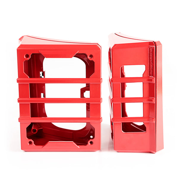 Elite Guard Kit, Tail Light, Red; 07-18 Jeep Wrangler JK - 11226.06