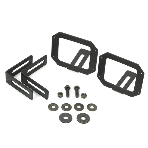 Light Kit, Bumper Mounted, Square; 07-18 Jeep Wrangler JK - 11232.24