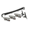 Light Bar Kit, Windshield Mounted; 07-18 Jeep Wrangler JK - 11232.26