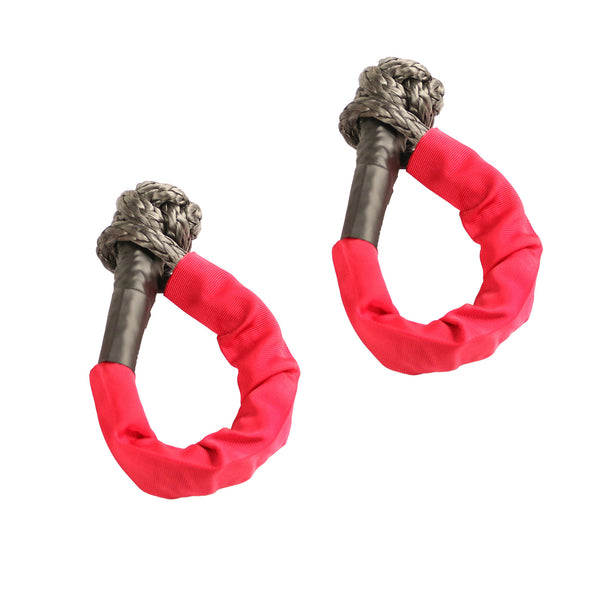 Soft Rope Shackle, 7/16 inch, 7500 LBS WLL, Pair - 11235.52