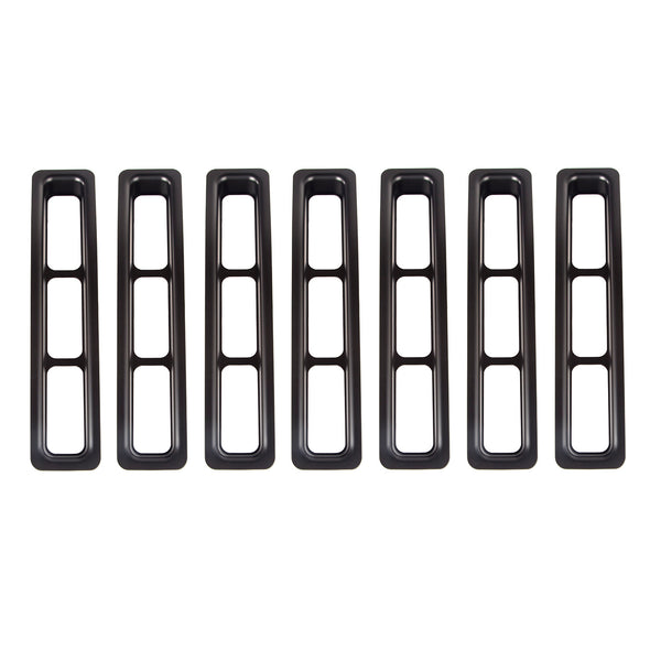 Grille Insert Kit, Black; 97-06 Jeep Wrangler TJ - 11306.03