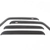 Window Rain Deflectors; 07-18 Jeep Wrangler JKU - 11351.12