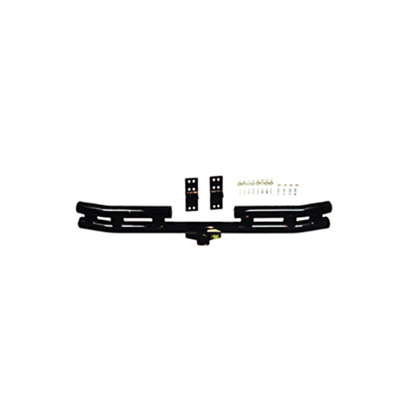 Double Tube Bumper, Rear, 3 Inch; 55-06 Jeep CJ/Wrangler YJ/TJ - 11503.01