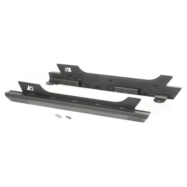 XHD Rock Sliders, Steel; 07-18 Jeep Wrangler JK, 2 Door - 11504.17