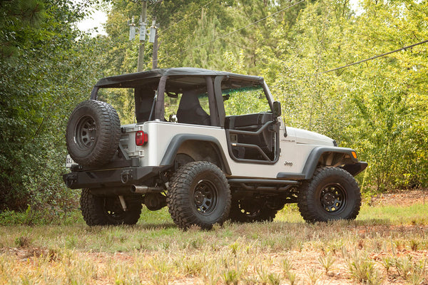 Tube Doors, Locking; 97-06 Jeep Wrangler TJ - 11509.20
