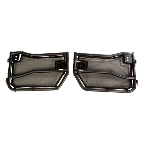 Tube Doors Kit, Front, Eclipse Covers; 07-18 Wrangler JK/JKU - 11509.25