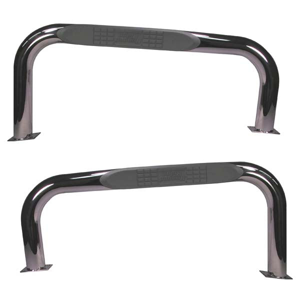 Tube Side Step, Stainless Steel; 87-06 Jeep Wrangler YJ/TJ - 11522.04