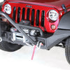 XHD Bumper High Clearance End Kit; 07-18 Jeep Wrangler JK - 11540.24