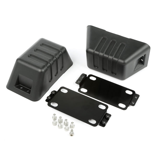 XHD Bumper Tow Point Cover; 07-18 Jeep Wrangler JK - 11540.26