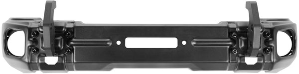 Arcus Front Bumper w/ Winch Tray & Tow Hooks, 18-Up Jeep Wrangler JL / 20-Up Gladiator JT - 11549.04