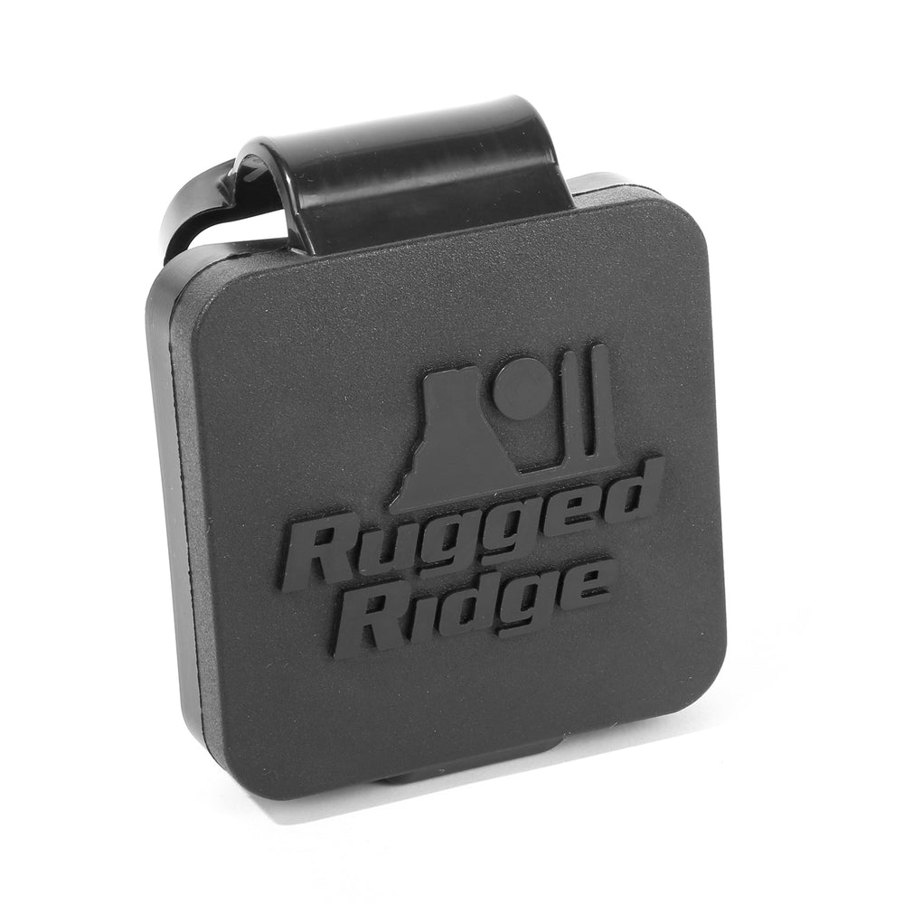 11580.60 Rugged Ridge Receiver Hitch Kit with Wire Harness and Logo