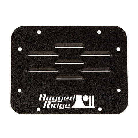 Tire Carrier Delete Plate; 07-18 Jeep Wrangler JK - 11586.10