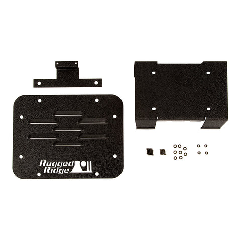 Tire Carrier Delete Plate Kit: 07-18 Jeep Wrangler JK - 11586.11
