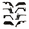 XHD Armor Fender Kit, Liner; 07-18 Jeep Wrangler JK, 2 Door - 11615.05
