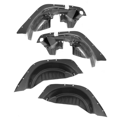 Fender Liner Kit, 4 Piece, Inner; 07-18 Jeep Wrangler JK - 11620.50