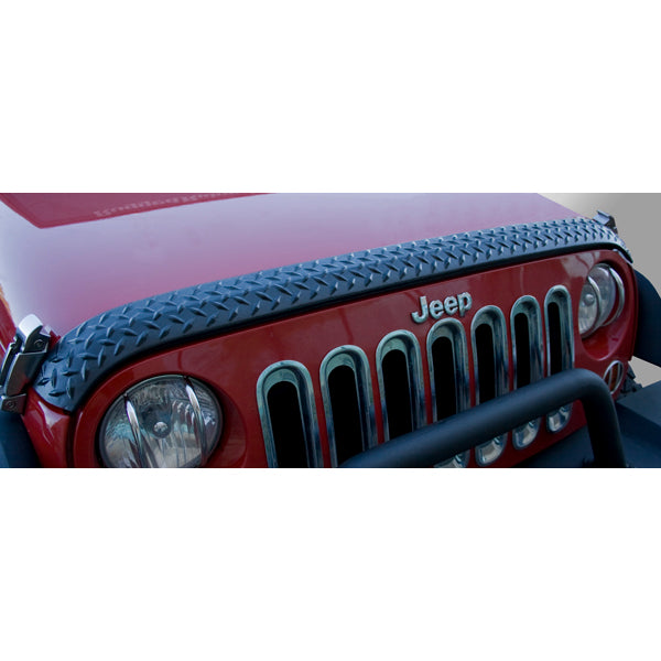 Body Armor, Hood Guard; 07-18 Jeep Wrangler JK - 11651.17