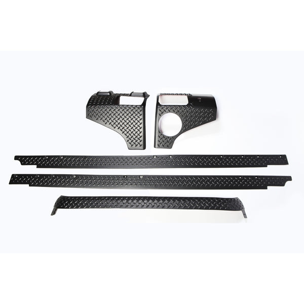 Body Armor Kit, 5 Piece; 07-18 Jeep Wrangler Unlimited JKU, 4 Door - 11651.50