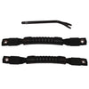 Door Pull Straps, Black; 97-06 Jeep Wrangler TJ - 11826.01