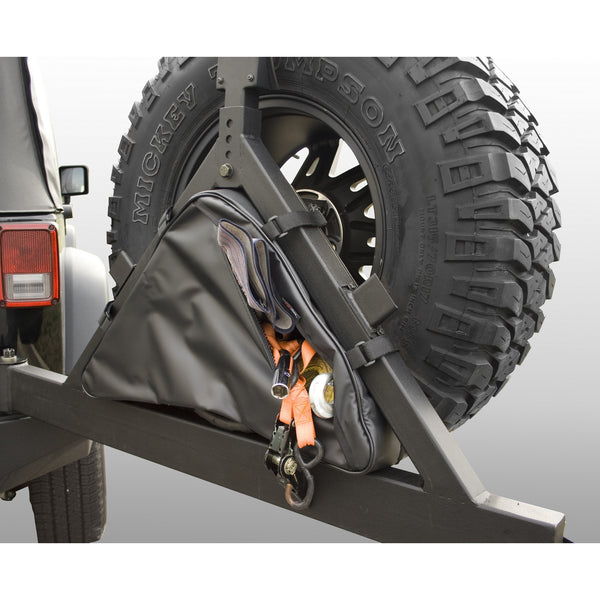 Triangular Storage Bag for Rugged Ridge Tire Carriers - 12801.50