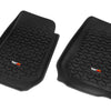 Floor Liner, Front; Black, 2007-2018 Jeep Wrangler Unlimited JK 4 Dr - 12920.02