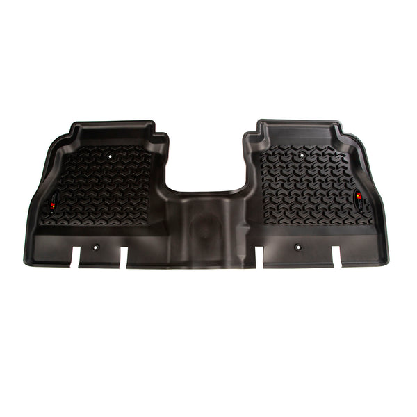 Floor Liner, Rear; Black, 2018-2019 Jeep Wrangler JL 4 Dr - 12950.48