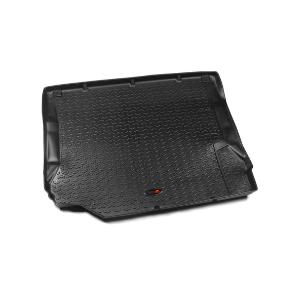 Floor Liner, Cargo; Black, 2007-2010 Jeep Wrangler Unlimited JK 4 Dr - 12975.01