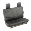 Elite Ballistic Seat Cover, Rear, Black; 07-10 Jeep Wrangler JK, 2 Door - 13266.01
