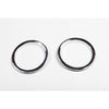 Turn Signal Bezel Trim, Chrome; 07-18 Jeep Wrangler JK - 13311.22