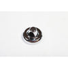 Antenna Base Cover, Chrome; 07-18 Jeep Wrangler JK/JKU - 13311.26