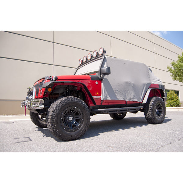 Cab Cover, Gray; 07-18 Jeep Wrangler JKU - 13318.09