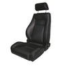 Ultra Seat, Front, Reclinable, Black Denim; 76-02 Jeep CJ/Wrangler YJ/TJ - 13404.15