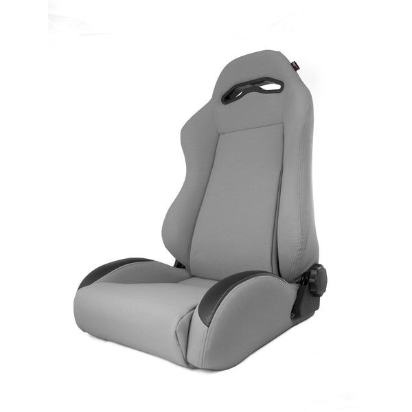 Sport Seat, Front, Reclinable, Gray; 97-06 Jeep Wrangler TJ - 13415.09