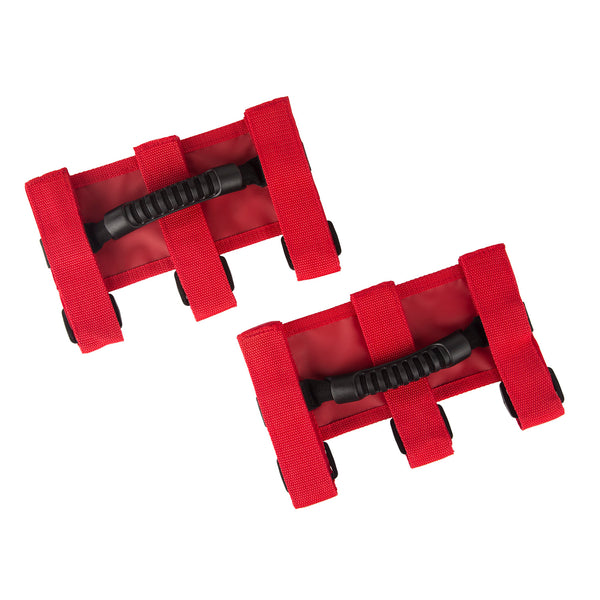 Ultimate Grab Handle Kit, Red; 55-19 Jeep CJ/Wrangler / 2020 Gladiator - 13505.03